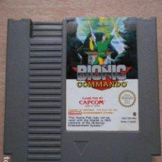 Videojuegos y Consolas: BIONIC COMMANDO CARTUCHO NINTENDO. Lote 277003658