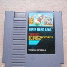 Videojuegos y Consolas: SUPER MARIO BROS NINTENDO CARTUCHO VERSION ESPAÑOLA ENTERTAINMENT SYSTEM. Lote 277004523