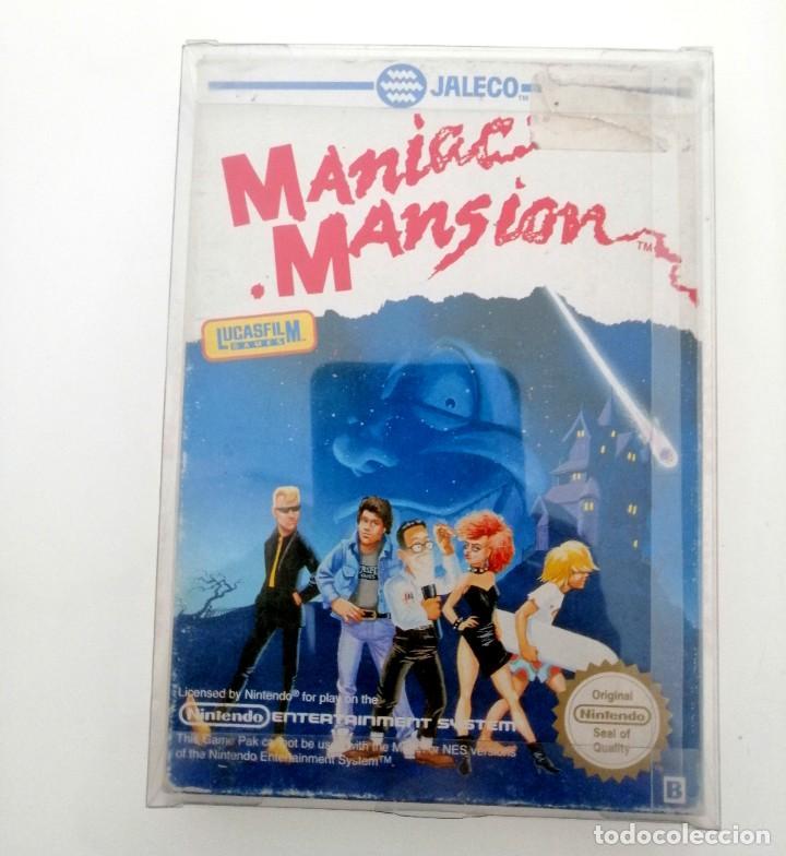 JUEGO DE NES MANIAC MANSION COMPLETO EN CASTELLANO (Juguetes - Videojuegos y Consolas - Nintendo - Nes)