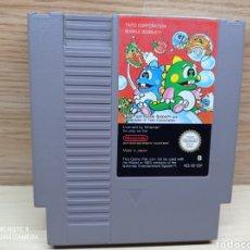 Videojuegos y Consolas: BUBBLE BOBBLE NINTENDO NES. Lote 278420473