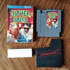 Videojuegos y Consolas: SHATTER HAND NINTENDO NES PAL ESPAÑA EXCELENTE ESTADO. Lote 279332643