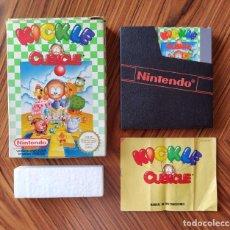 Videojuegos y Consolas: COMPLETO KICKLE CUBICLE NINTENDO NES PAL ESPAÑA. Lote 279332918