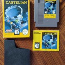 Videojuegos y Consolas: COMPLETO CASTELIAN NINTENDO NES PAL ESPAÑA. Lote 279333023