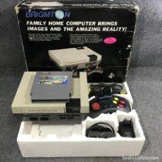 Videojuegos y Consolas: NES CLONICA BRIGMTON CON CAJA+20 JUEGOS. Lote 279337558