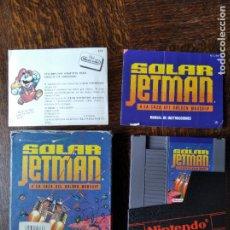 Videojuegos y Consolas: SOLAR JETMAN. A LA CAZA DEL GOLDEN WARSHIP - NINTENDO NES PAL ESPAÑA- FUNCIONANDO EN CAJA. Lote 287333378