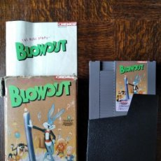 Videojuegos y Consolas: THE BUGS BUNNY BLOWOUT - NINTENDO NES PAL ESPAÑA- FUNCIONANDO EN CAJA. Lote 287333763