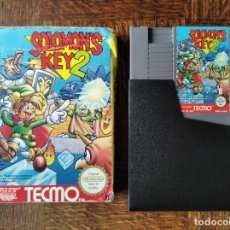Videojuegos y Consolas: SOLOMON'S KEY 2 - NINTENDO NES PAL ESPAÑA- FUNCIONANDO EN CAJA. Lote 287334008