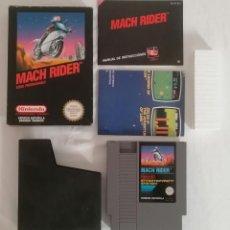 Videojuegos y Consolas: NINTENDO NES MACH RIDER COMPLETO PAL ESPAÑA. Lote 287624158