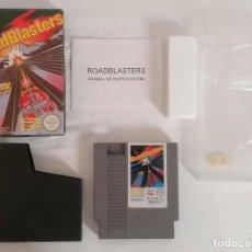 Videojuegos y Consolas: NINTENDO NES ROADBLASTERS COMPLETO PAL ESPAÑA. Lote 287624343