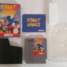 Videojuegos y Consolas: NINTENDO NES STREET GANGS COMPLETO PAL ESPAÑA. Lote 287624548