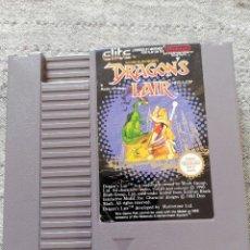 Videojuegos y Consolas: JUEGO DRAGON'S LAIR. NINTENDO. NES. Lote 288148708