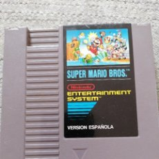 Videojuegos y Consolas: JUEGO SÚPER MARIO BROS. VERSIÓN ESPAÑOLA . NINTENDO. NES. Lote 288149368