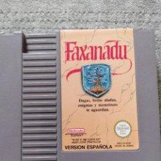 Videojuegos y Consolas: JUEGO FAXANADU. VERSIÓN ESPAÑOLA . NINTENDO. NES. Lote 288149733