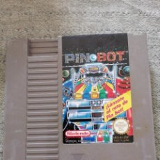 Videojuegos y Consolas: JUEGO PIN BOT. VERSIÓN ESPAÑOLA. NINTENDO. NES. Lote 288151528