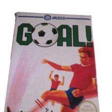 Videojuegos y Consolas: GOAL - JUEGO NES - COMPLETO. Lote 288227073