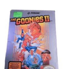 Videojuegos y Consolas: THE GOONIES II - JUEGO NES - COMPLETO. Lote 288227653
