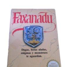 Videojuegos y Consolas: FAXANADU - JUEGO NES - COMPLETO. Lote 288228548