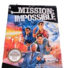 Videojuegos y Consolas: MISSION IMPOSSIBLE - JUEGO NES - COMPLETO. Lote 288229778