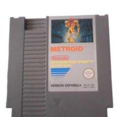 Videojuegos y Consolas: METROID - JUEGO NES - CARTUCHO. Lote 288230243
