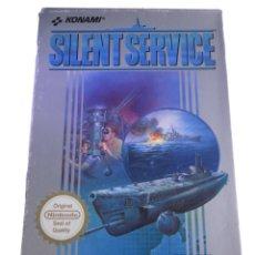 Videojuegos y Consolas: SILENT SERVICE - JUEGO NES - COMPLETO. Lote 288358453