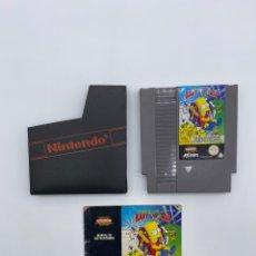 Videojuegos y Consolas: THE SIMPSONS BART VS THE WORLD JUEGO PARA NINTENDO NES PAL ESP VERSIÓN ESPAÑOLA. Lote 289365643