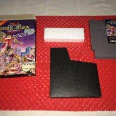 Videojuegos y Consolas: DOUBLE DRAGON II - NINTENDO - AÑO 1989 ACLAIM - PROBADO - CON LA CAJA, LA FUNDA Y EL CORCHO. Lote 289483723