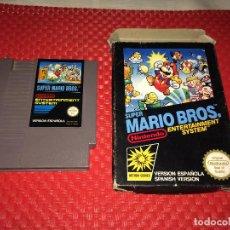 Videojuegos y Consolas: SUPER MARIO BROS. - NINTENDO - AÑO 1987 - PROBADO - CON LA CAJA. Lote 289503543