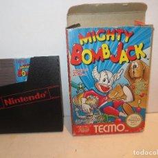 Videogiochi e Consoli: NINTENDO NES MIGHTY BOMB JACK EN CAJA, EN MUY BUEN ESTADO,BARATO. Lote 294038593