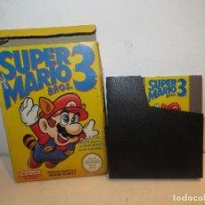 Videojuegos y Consolas: NINTENDO NES SUPER MARIO 3 EN CAJA,BARATO. Lote 294040078