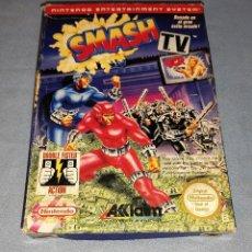 Videogiochi e Consoli: DIFICIL JUEGO DE NINTENDO NES SMASH TV COMPLETO. Lote 294433128