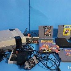 Videojuegos y Consolas: LOTE NINTENDO NES CONSOLA Y VIDEOJUEGOS.. Lote 294964568
