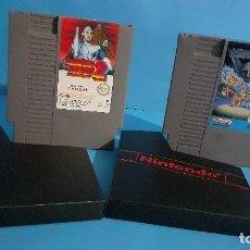 Videojuegos y Consolas: NINTENDO NES MEGA MAN 2 Y MEGA MAN 3. Lote 294965433
