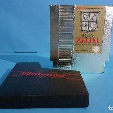 Videojuegos y Consolas: NINTENDO NES THE LEGEND OF ZELDA. CARTUCHO DORADO.. Lote 294966678