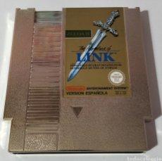 Videojuegos y Consolas: ZELDA II THE ADVENTURE OF LINK NINTENDO NES PAL ESPAÑA. Lote 294975068
