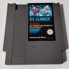 Videojuegos y Consolas: ICE CLIMBER NINTENDO NES PAL ESPAÑA. Lote 294975578