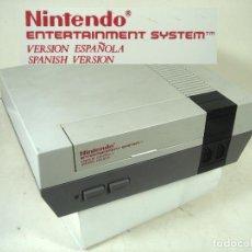 Videojuegos y Consolas: CONSOLA NINTENDO NES-VERSION ESPAÑOLA 1987 ¡¡ FUNCIONANDO¡¡ - VIDEO JUEGOS NESE-001. Lote 295035493