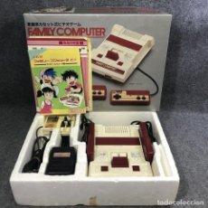 Videojuegos y Consolas: FAMICOM CON CAJA E INSTRUCCIONES NINTENDO NES. Lote 295476408
