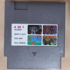 Videojuegos y Consolas: JUEGO NES 4 IN 1 (4 JUEGOS EN 1). Lote 295694063