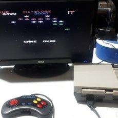 Videojuegos y Consolas: CONSOLA BRIGMTON CLONICA NES ORIGINAL TODO FUNCIONANDO CON 600 JUEGOS EN MEMOR LEER DESCRIPCION PAMM. Lote 296722168