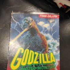 Videojuegos y Consolas: GODZILLA - NINTENDO NES - CON CAJA PAL ESP. Lote 296896503