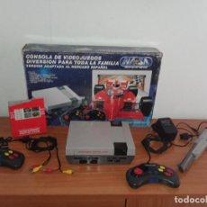 Videojuegos y Consolas: CONSOLA NASA SILVER EDICIÓN ESPAÑOLA CLÓNICA NINTENDO NES. Lote 297039773