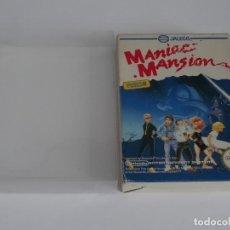 Videojuegos y Consolas: NINTENDO NES - MANIAC MANSION VER. ESPAÑOLA + FUNDA PROTECTORA PARA CAJA EXTERIOR. Lote 297100408