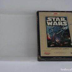 Videojuegos y Consolas: NINTENDO NES - STAR WARS VER. ESPAÑOLA + FUNDA PROTECTORA PARA CAJA EXTERIOR. Lote 297100633