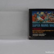 Videojuegos y Consolas: NINTENDO NES - SUPER MARIO BROS MINI CAJA VER. ESPAÑOLA + FUNDA PROTECTORA PARA CAJA EXTERIOR. Lote 297101713