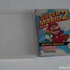 Videojuegos y Consolas: NINTENDO NES - SUPER MARIO BROS 2 VER. ESPAÑOLA + FUNDA PROTECTORA PARA CAJA EXTERIOR. Lote 297102833