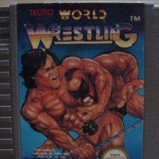 Videojuegos y Consolas: VIDEO JUEGO NINTENDO NES WORLD WRESTLING. Lote 24469866