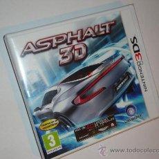 Videojuegos y Consolas: ASPHALT 3D -NINTENDO 3DS. Lote 29579094
