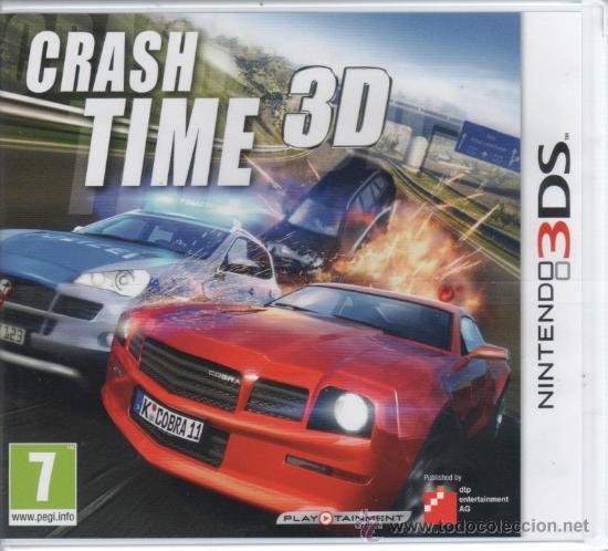 CRASH TIME 3D - JUEGO NINTENDO 3DS (PRECINTADO) (Juguetes - Videojuegos y Consolas - Nintendo - 3DS)