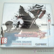 Videojogos e Consolas: RESIDENT EVIL THE MERCENARIES 3D PARA NINTENDO 3DS PAL ESPAÑA NUEVO Y PRECINTADO. Lote 37669341