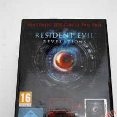 Videojuegos y Consolas: RESIDENT EVIL REVELATIONS + 3DS CIRCLE PAD PRO NINTENDO 3DS - PAL ESPAÑA - NUEVO Y PRECINTADO. Lote 40580643